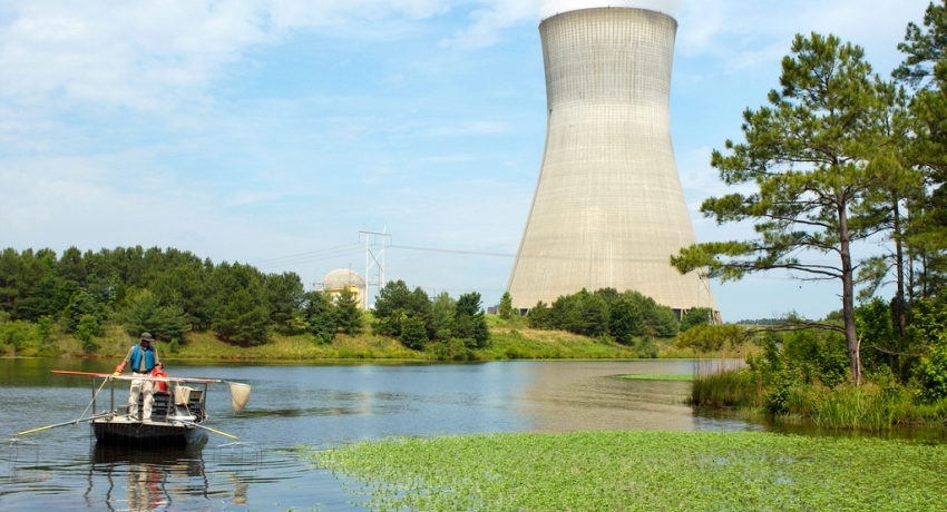 A waterway near the Shearon Harris Nuclear Power Plant in North Carolina. Credit Nuclear Regulatory Commission - nrc.gov