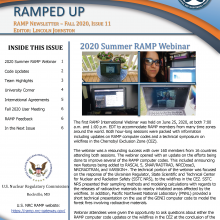 RAMP Newsletter - Fall 2020, Issue 11